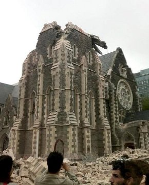 RIP Christchurch cathedral
