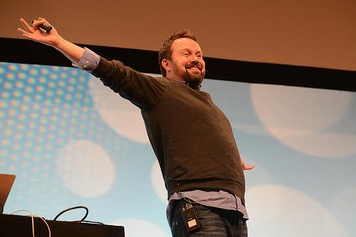 Tom Coatest at Webstock 2013